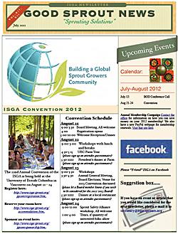 ISGA newsletter thumbnail